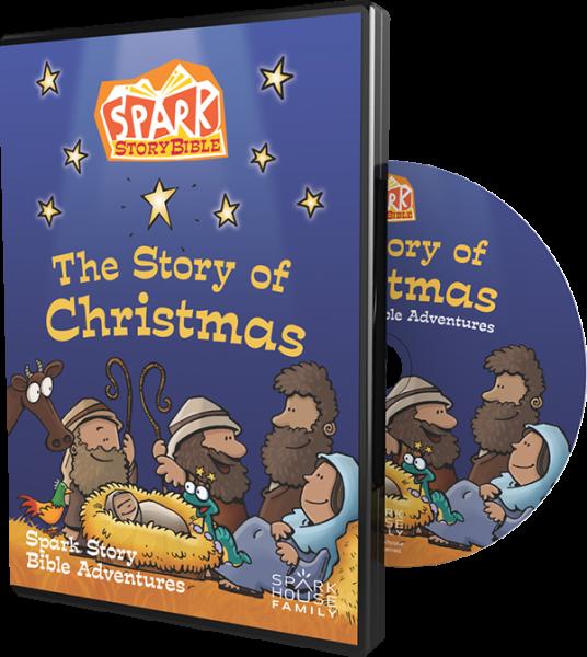 The Story Of Christmas.The Story Of Christmas Spark Story Bible Adventures
