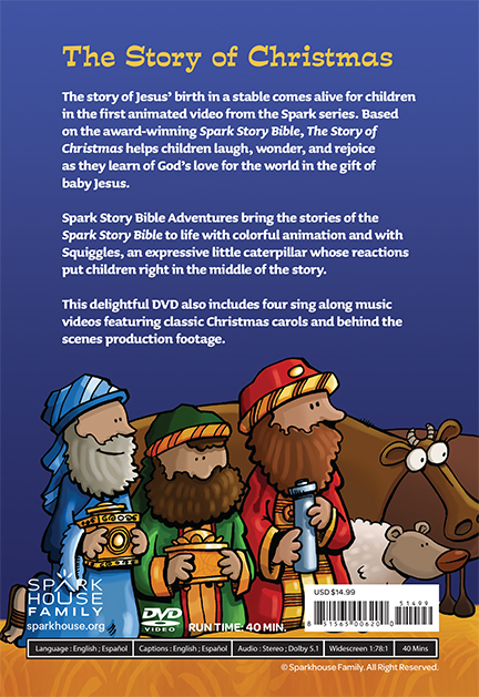the story of christmas spark story bible adventures beaming books - Biblical Christmas Story