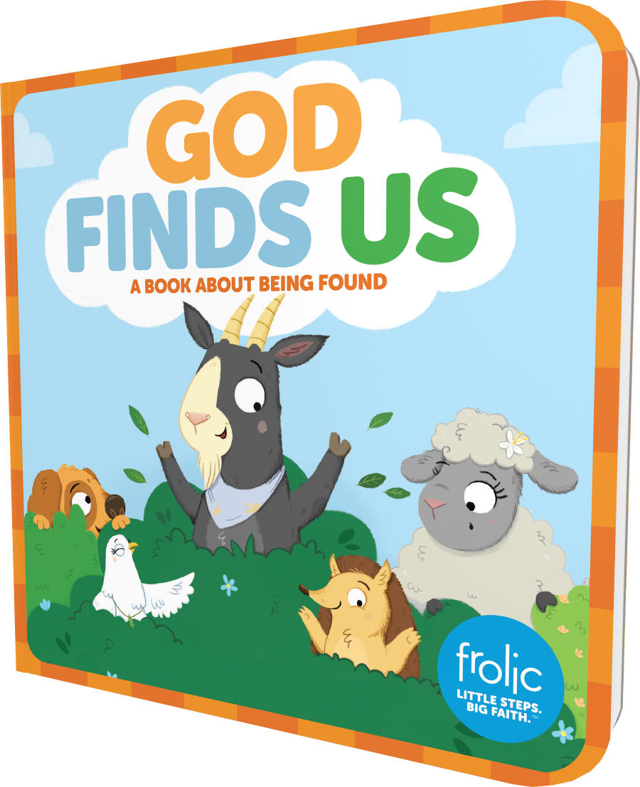 God Finds Us: A Book about Being Found