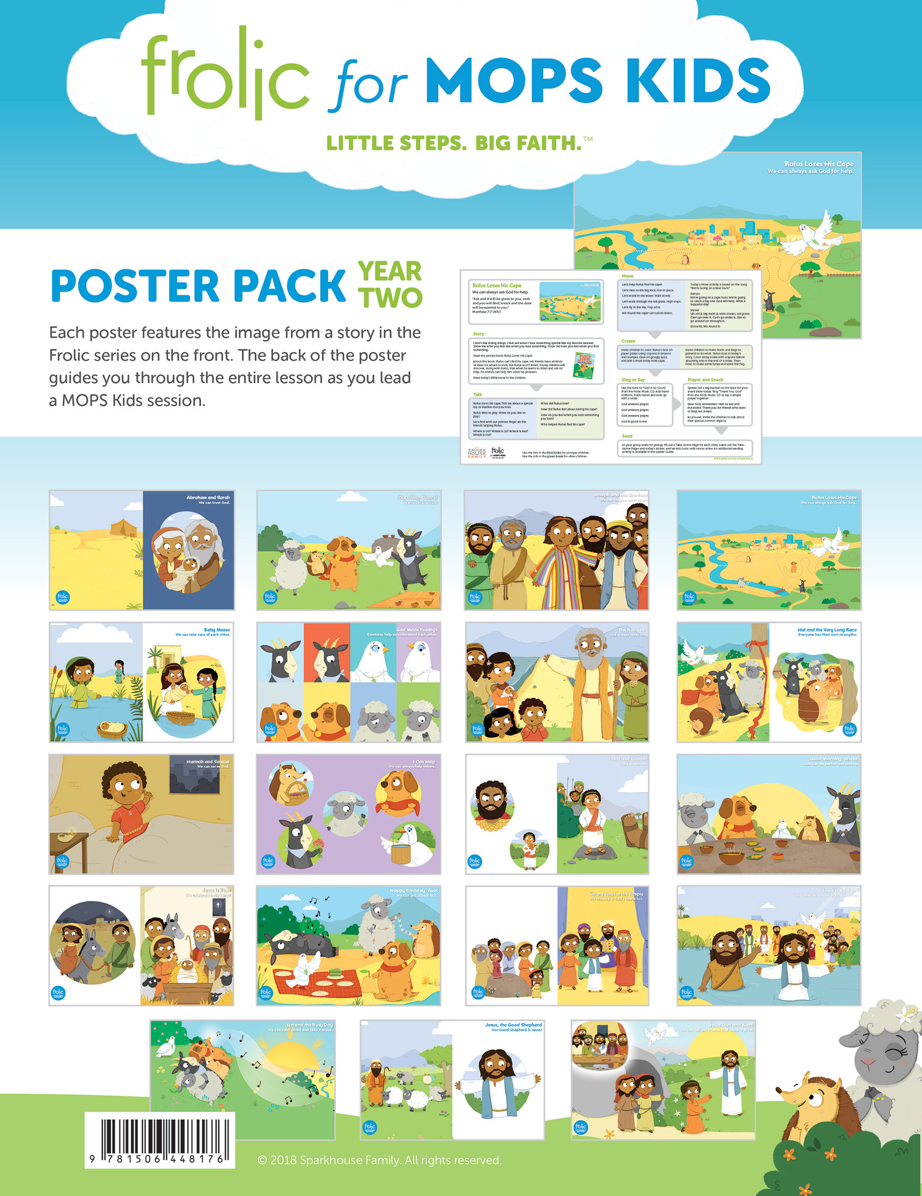 MOPS Kids Frolic Poster Pack Year 2