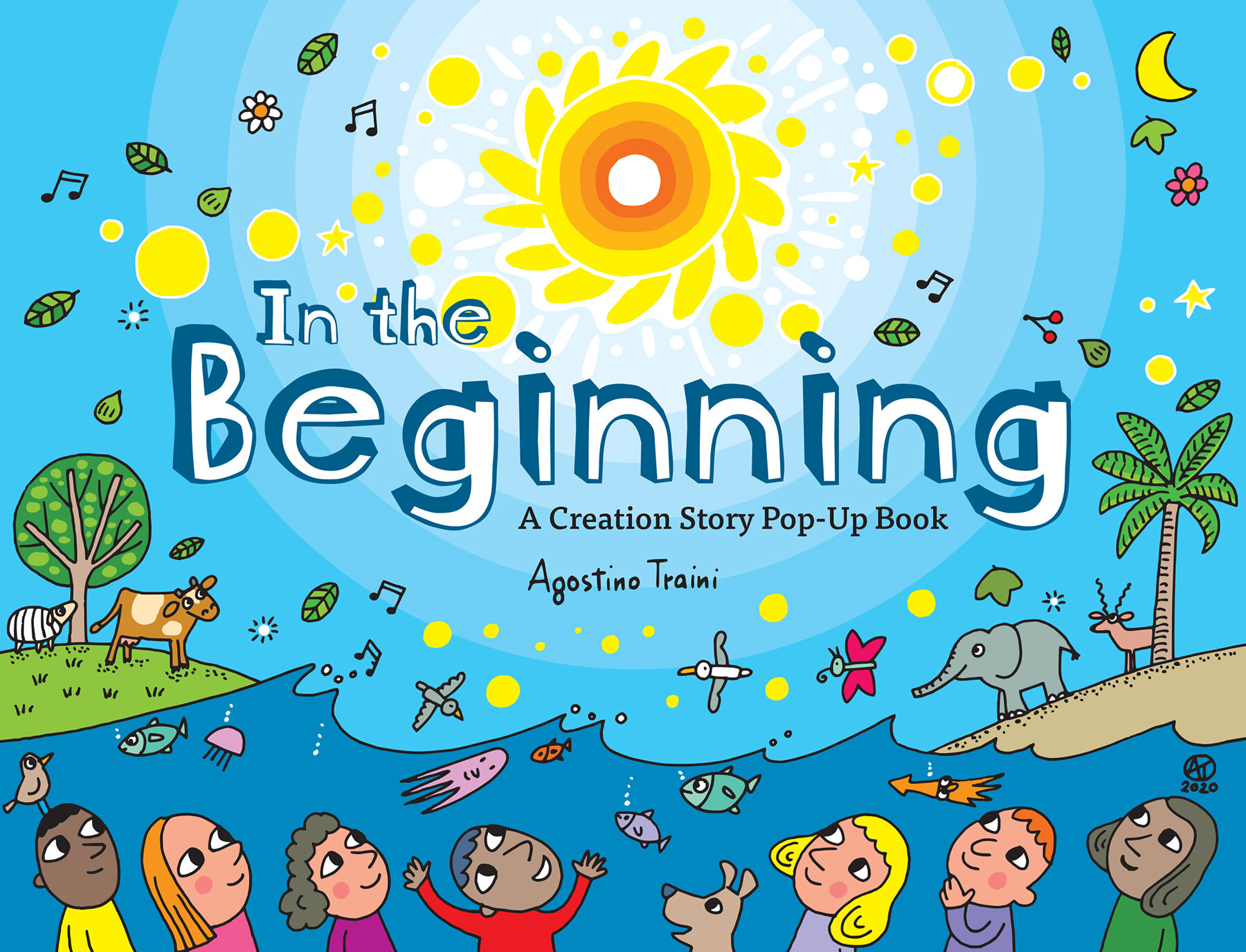 In the Beginning: A Creation Story Pop-Up Book