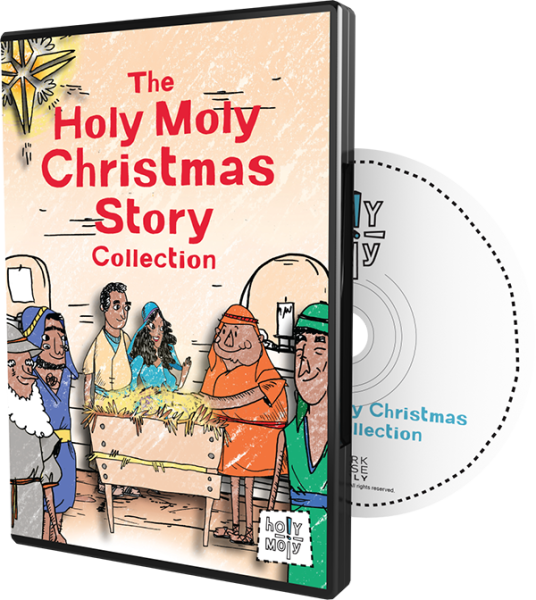 The Holy Moly Christmas Story DVD