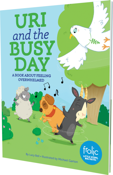 Uri and the Busy Day: A Book about Feeling Overwhelmed