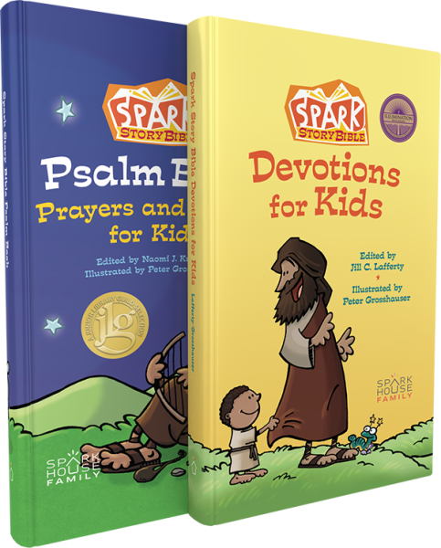 Spark Story Bible Companion Devotional Bundle: Devotional and Psalm Book